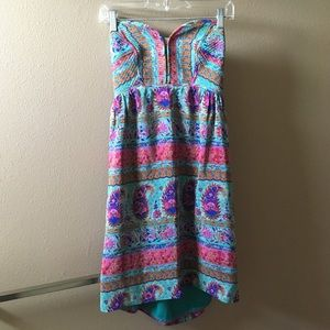 One-of-a-Kind Strapless Dress